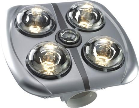 Đèn sưởi nhà tắm 4 bóng âm trần H4B610